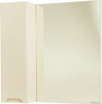 Зеркало-шкаф  Андрэа 80 L бежевый