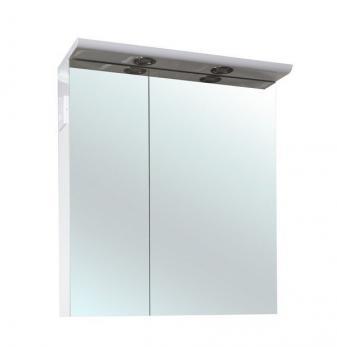 Зеркало-шкаф Анкона 80 белый