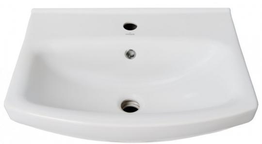 Тумба с раковиной Анкона 55 белая