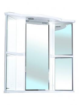 Зеркало-шкаф Bellezza Венеция угловая 60 L белый