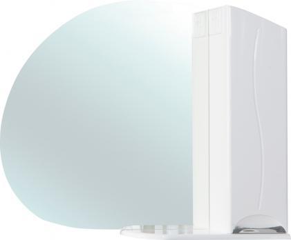Зеркало-шкаф Глория 105 R белый