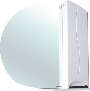 Зеркало-шкаф Глория 85 R белый