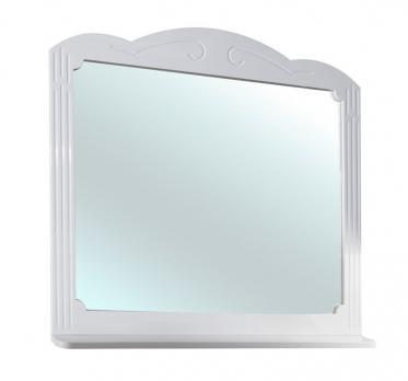 Зеркало Bellezza Кантри 105 белое