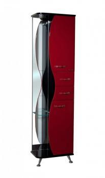 Пенал Bellezza Рио 50 R красный/чёрный
