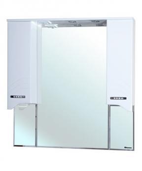 Зеркало-шкаф Дрея 105 белый