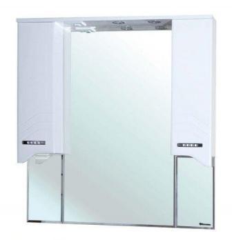 Зеркало-шкаф Bellezza Дрея 95 белый