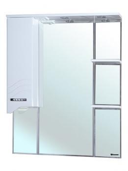 Зеркало-шкаф Дрея 85 L белый