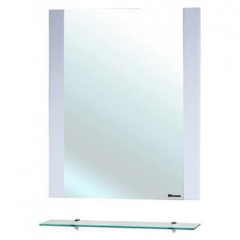Рокко-70 зеркало с полкой белое