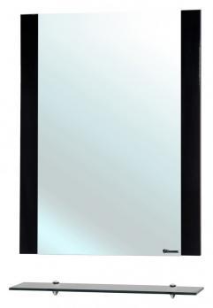 Зеркало с полкой Рокко 60 черное