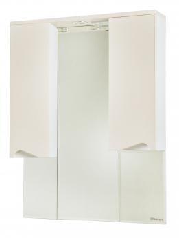Зеркало-шкаф Эйфория 100 бежевое