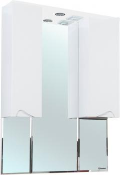 Зеркало-шкаф Эйфория 100 белое