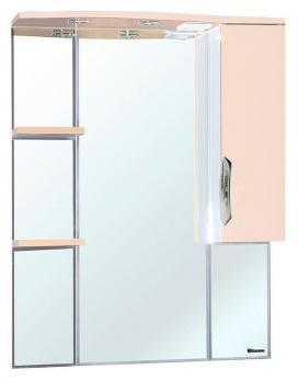 Зеркало-шкаф Bellezza Лагуна R 75 бежевая