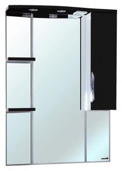 Зеркало-шкаф Bellezza Лагуна 85R черная