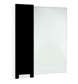 Зеркало-шкаф Bellezza Пегас 80 L черный