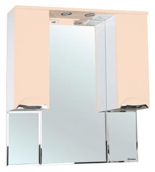 Зеркало-шкаф Bellezza Альфа 90 бежевый