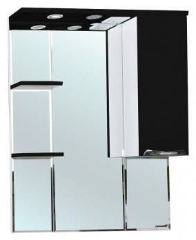 Зеркало-шкаф Bellezza Альфа 75 R чёрный