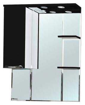 Зеркало-шкаф Bellezza Альфа 75 L чёрный