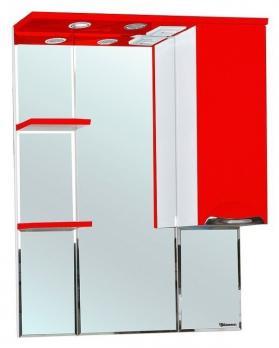 Зеркало-шкаф Bellezza Альфа 75 R красный