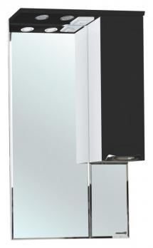 Зеркало-шкаф Bellezza Альфа 65 R чёрный