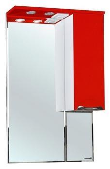 Зеркало-шкаф Bellezza Альфа 65 R красный