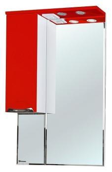 Зеркало-шкаф Bellezza Альфа 65 L красный