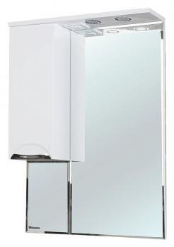 Зеркало-шкаф Bellezza Альфа 65 L белый