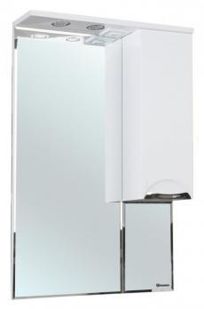 Зеркало-шкаф Альфа 55 R белый