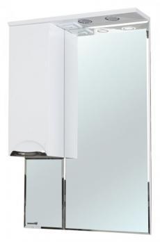 Зеркало-шкаф Альфа 55 L белый