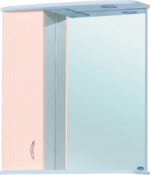 Зеркало-шкаф Астра 60 L бежевый