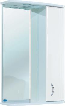 Зеркало-шкаф Bellezza Астра 55 R белый