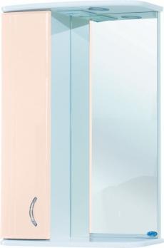 Зеркало-шкаф Астра 55 L бежевый