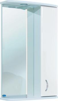 Зеркало-шкаф Bellezza Астра 50 R белый