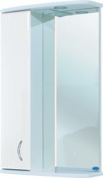 Зеркало-шкаф Астра 50 L белый