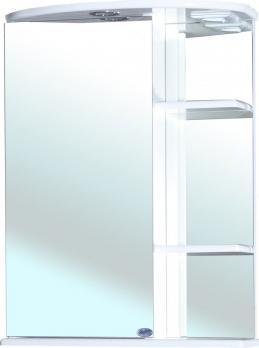 Зеркало-шкаф Bellezza Нарцисс 55 L с подсветкой