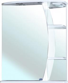 Зеркало-шкаф Bellezza Луна 60 L с подсветкой