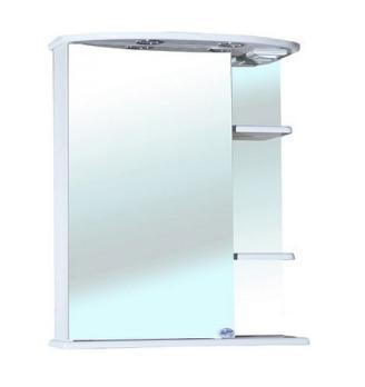 Зеркало-шкаф Bellezza Магнолия 60 L белый