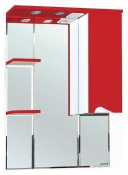 Зеркало-шкаф Эйфория 80 R красный