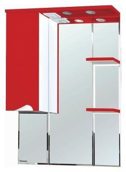 Зеркало-шкаф Bellezza Эйфория 80 L красный