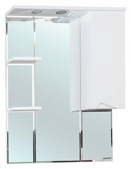 Зеркало-шкаф Эйфория 80 R белый
