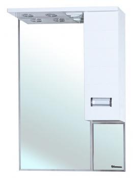 Зеркало-шкаф Bellezza Сиена 70 R белый