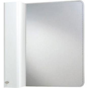 Зеркало-шкаф Bellezza Олимпия 80 L белый