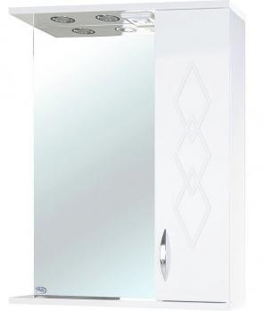 Зеркало-шкаф Элеганс 65 R белое