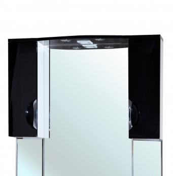 Зеркало-шкаф Bellezza Лагуна 105 черный