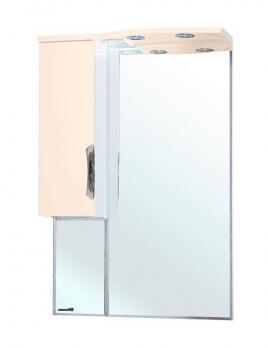 Зеркало-шкаф Bellezza Лагуна 65 L бежевая