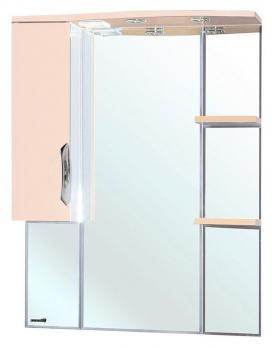 Зеркало-шкаф Bellezza Лагуна L 75 бежевая