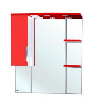 Зеркало-шкаф Bellezza Лагуна 75 L красное
