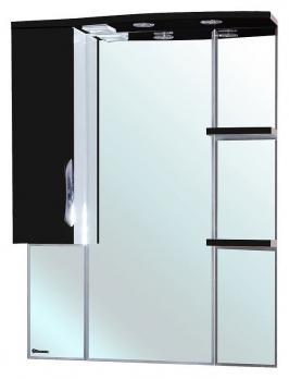Зеркало-шкаф Bellezza Лагуна 85 черная