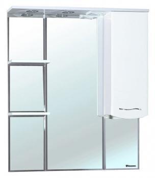 Зеркало-шкаф Bellezza Мари 85 R белое