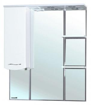 Зеркало-шкаф Bellezza Мари 75 L белое