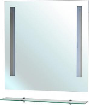 Зеркало Bellezza Ника 80 с полкой и с подсветкой